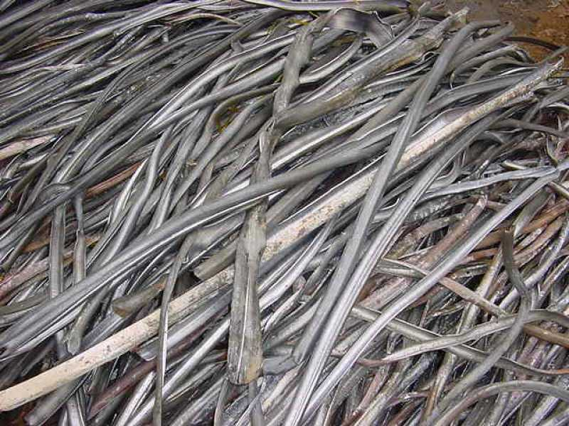 Принимаем отходы свинцовой оболочки кабеля на лом
