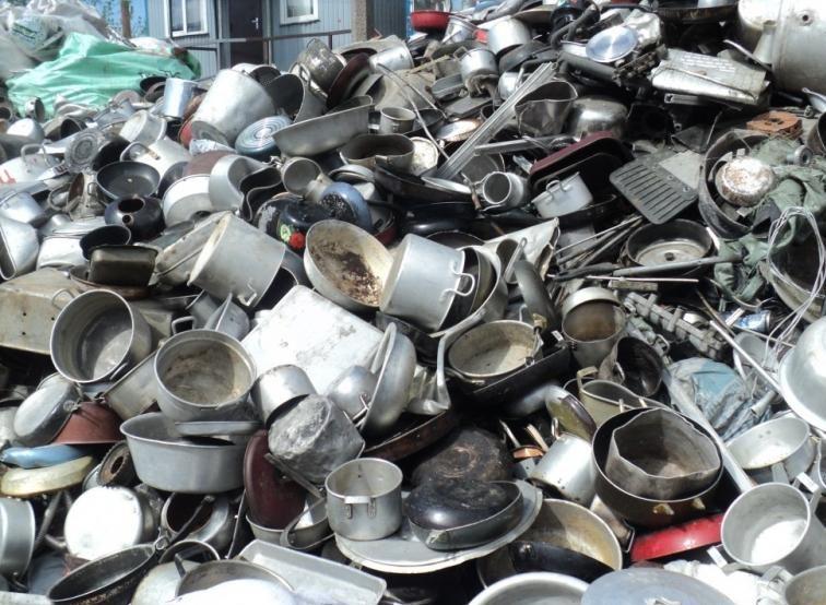 Принимаем различные изделия из пищевого алюминия и его сплавов на металлолом