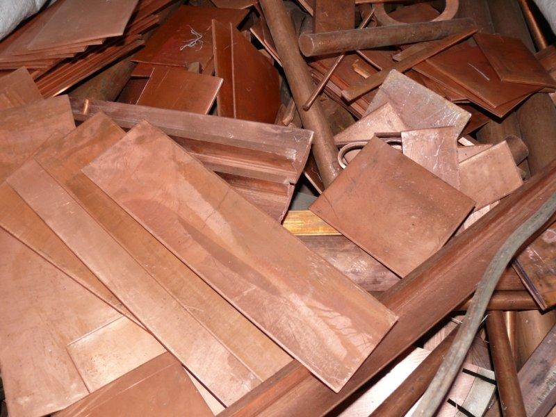 Принимаем различные изделия из кусковой меди и ее сплавов на металлолом